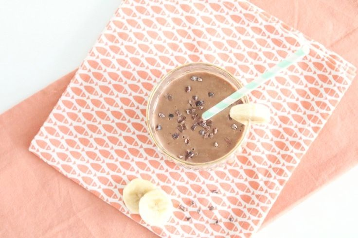 Kickstart smoothie met koffie (voor mama's) - FOOD - Chickslovelittleones.com
