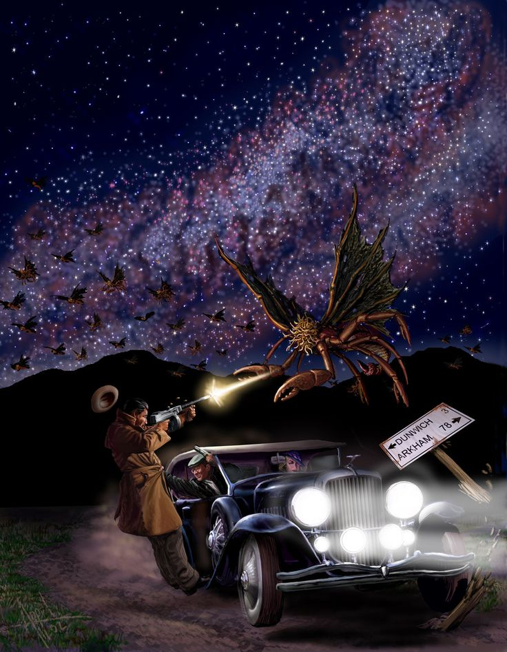 A Wrong Turn at Yuggoth by ChrisAppel (Christopher Appel) on deviantART