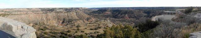 Palo Duro Canyon State Park, Canyon, Texas Panoramic photo
