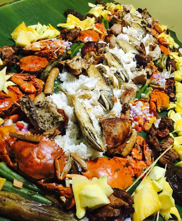 1000+ Images About Plan A Buffet & Boodle Fights On Pinterest