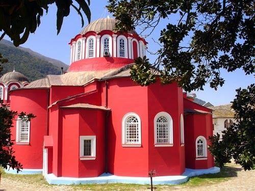 Το Καθολικό της Μεγίστης Λαύρας Αγίου Όρους (Τέλη 10ου αι.)-The Katholikon, or main church, of the Great Lavra of Mount Athos (Late 10th cent.)