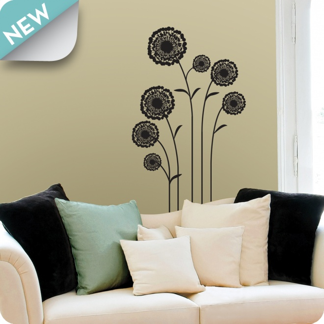 54 best Flowers Floral Wall Stickers images on Pinterest