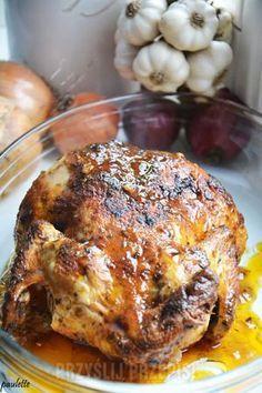 Kurczak wiele smaków pieczony w rękawie - przyslijprzepis.pl