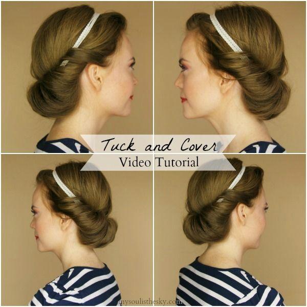 Best 20 Headband Hair Tuck ideas on Pinterest  Headband tuck