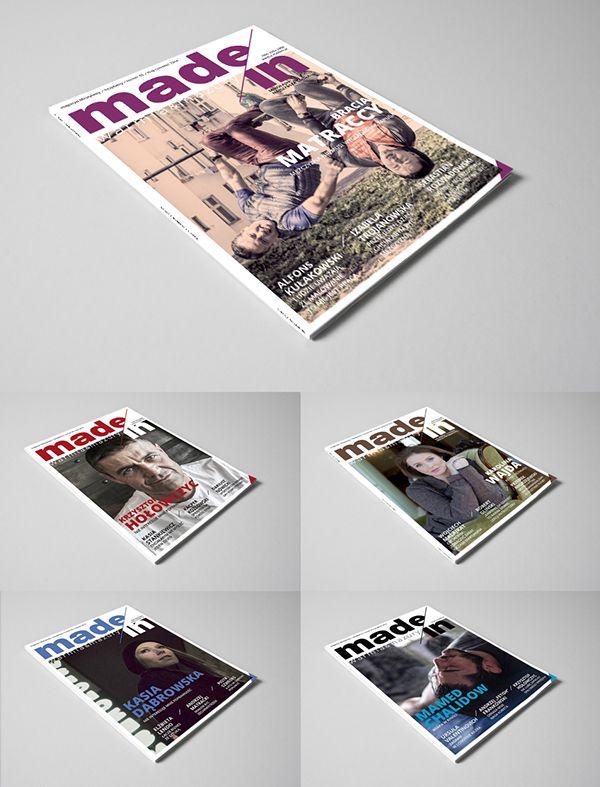 Projekt i nadzór nad szatą graficzną lifestylowego magazynu Made in. Warmia & Mazury.  On facebook profile: www.facebook.com/madeinwm Web: www.e-madein.pl More on: www.issuu.com/madeinwm