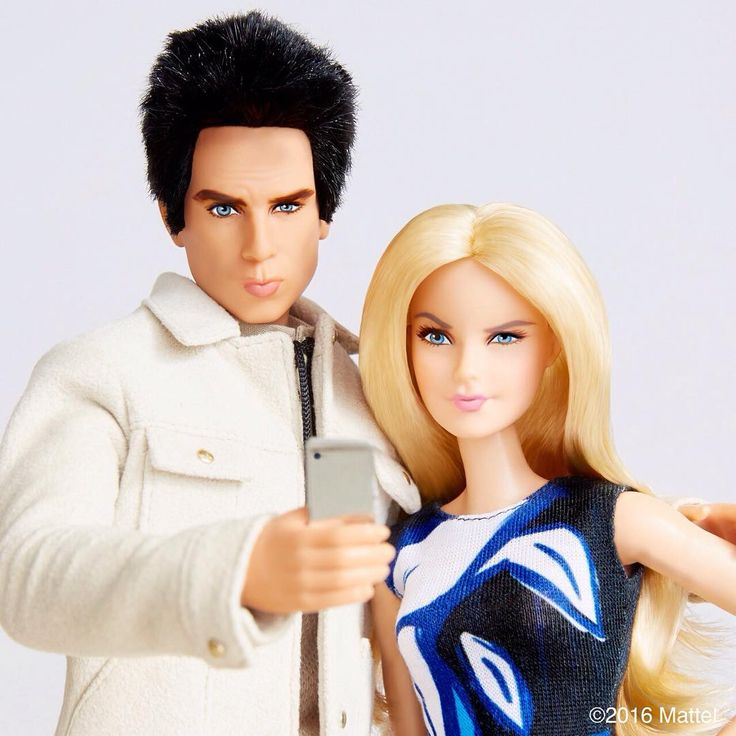 From Barbie Style on Instagram, an awesome Derek Zoolander doll plus Barbie's…