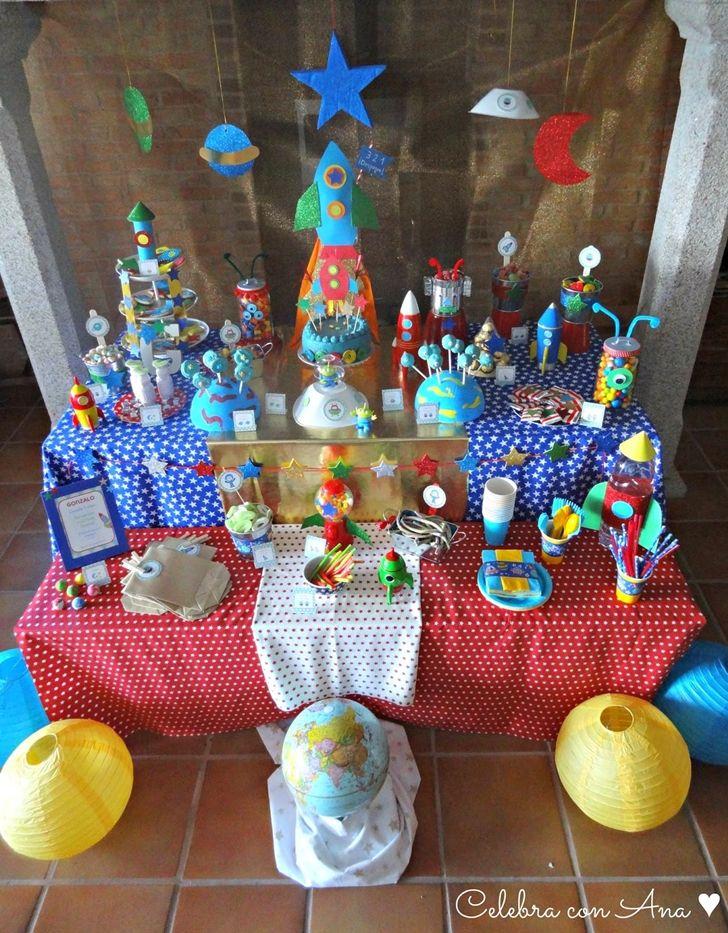 M s de 25 ideas incre bles sobre fiesta espacial en - Sorpresas de cumpleanos para ninos ...
