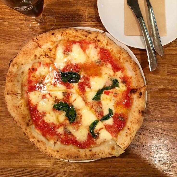ロマーナ マルゲリータにアンチョビのせボーノ(o) #プテカ #ピザ #イタリアン #青砥 #葛飾区