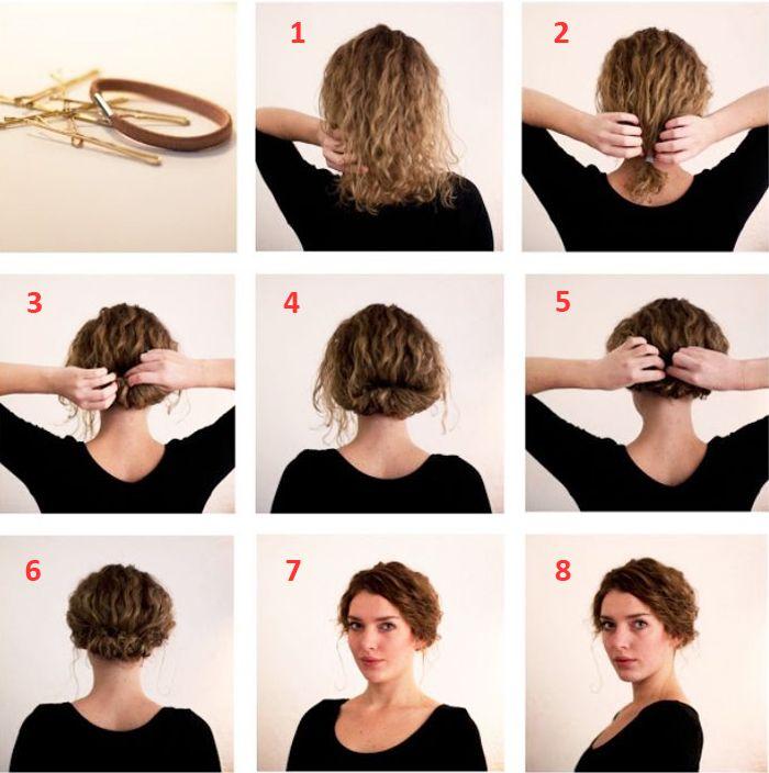 Ghetto Cute Messy Buns For Medium Hair Hair Styles Short Hair Tutorial Short Hair Updo