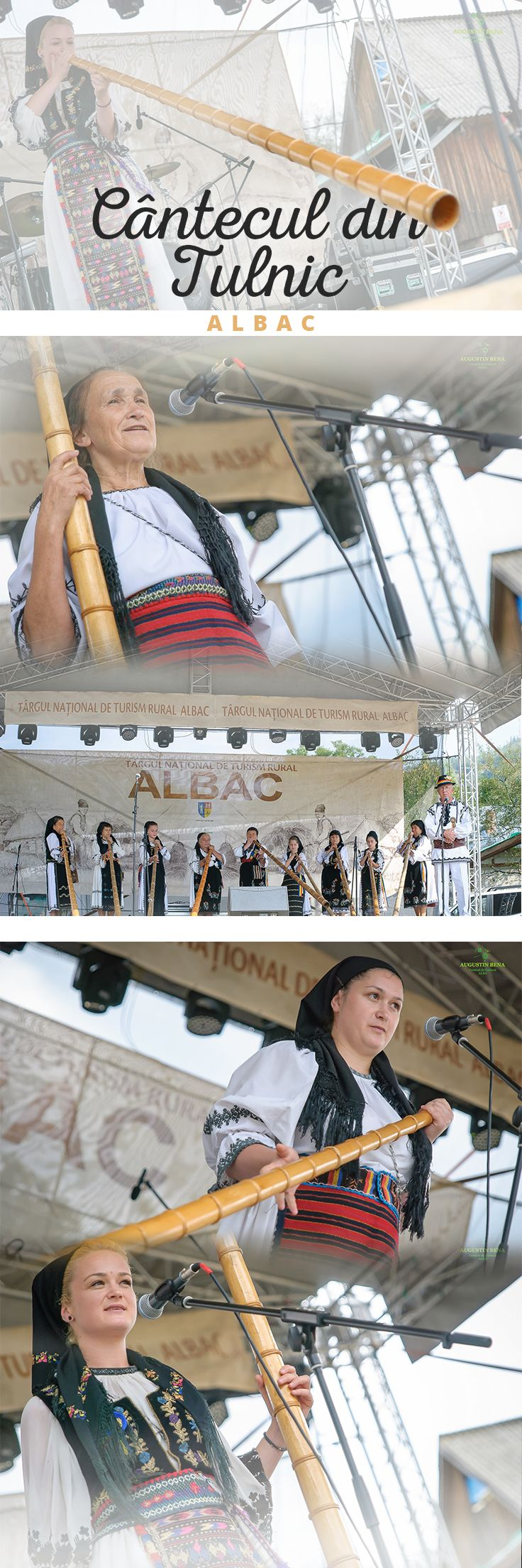 Traditional concert - The National Rural Tourism Fair in Albac, Alba County, Romania.