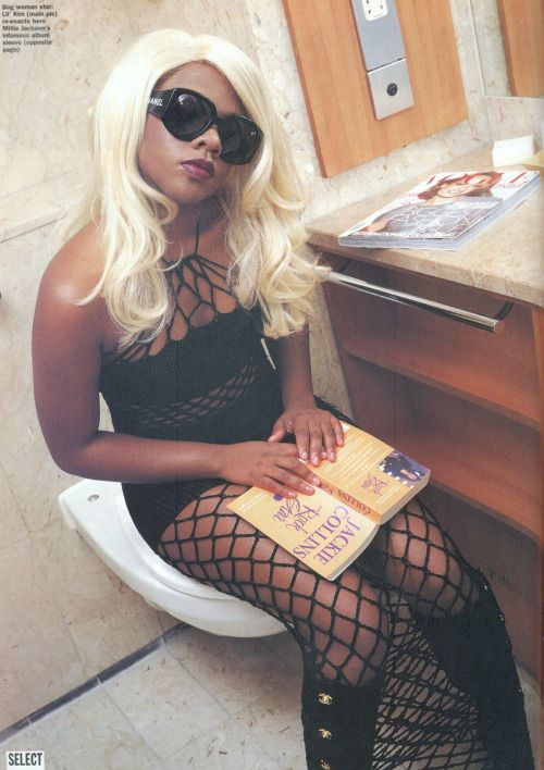 Lil Kim, Select Magazine, 1997.