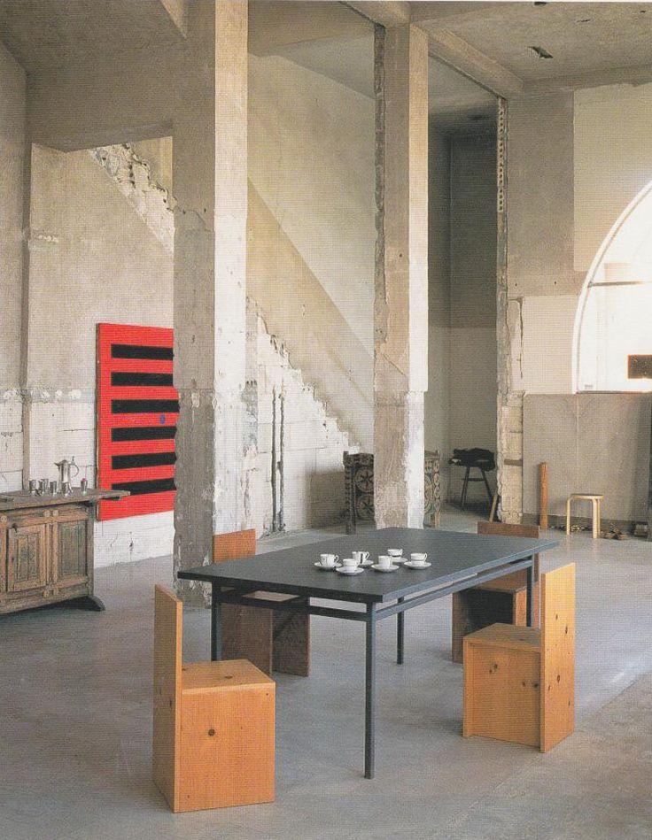 Donald judd studio marfa texas 1992 a e interior for Interior design room 77