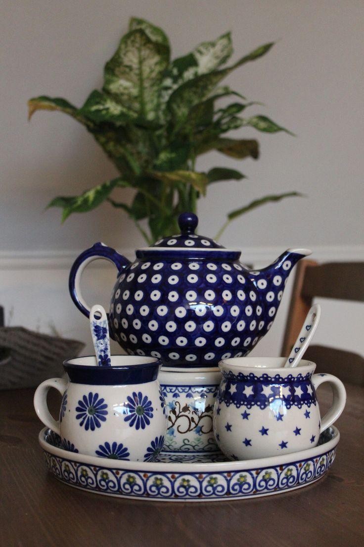 Bunzlau tea time set! Do you also love to combine decors?