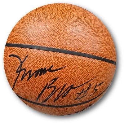 Kwame Brown Hand Signed Autographed I/O Full Size Basketball JSA DNA