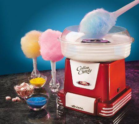 Zuckerwattemaschine - Ariete ZuckerwatteMaschine > So einfach herzustellen sind diese kleinen Leckereien und in so vielen Geschmacksrichtungen erhältlich, dass es schon verwunderlich ist, dass nicht jeder Haushalt eine eigene Zuckerwattemaschine besitzt.