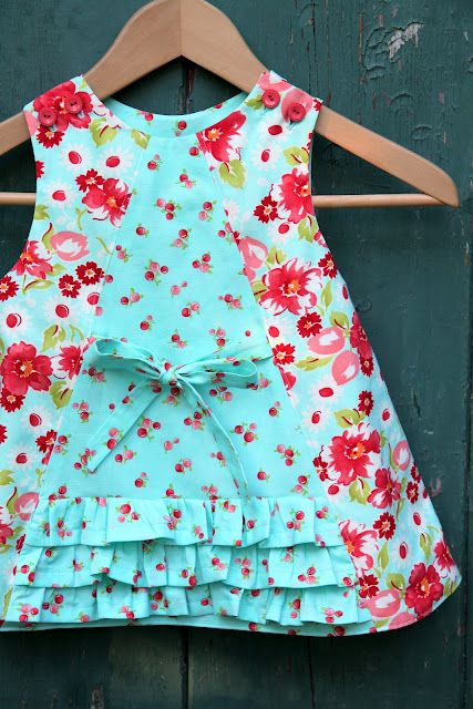 idea to match with the fat quarters I'm in love with and don't have enough for a dress