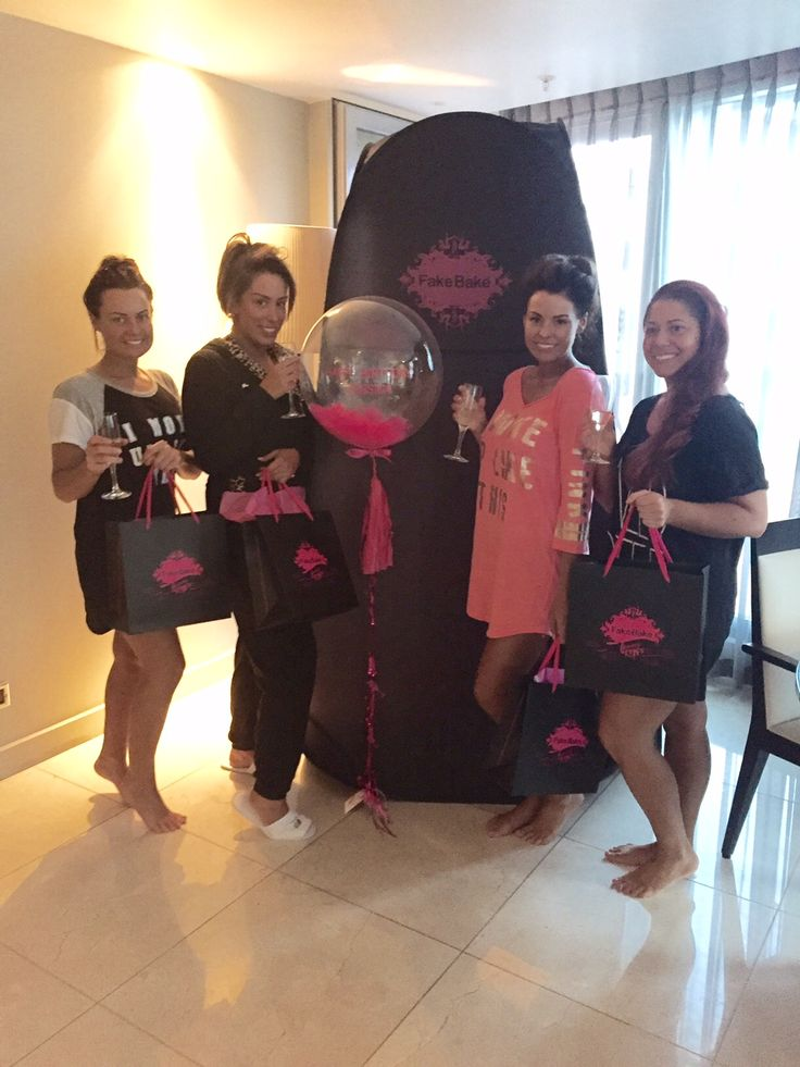 At Fake Bake Beauty at Home we seriously know how to pamper. From facials to mani/pedis, makeovers to tanning, we love to keep our customers perfectly prepped, like the gorgeous Jess Wright & her baes. Want to party with us? Get the info here: info@fakebakebeauty.co.uk.
