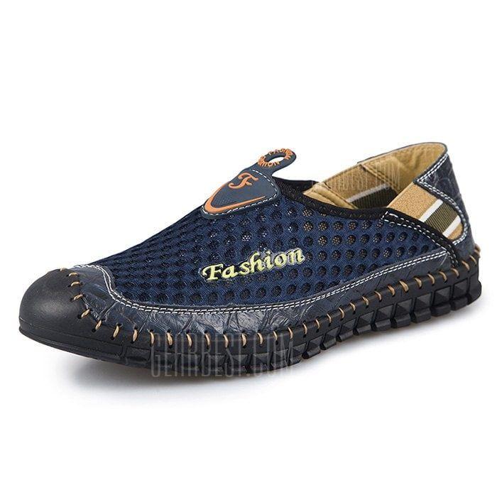 bbd172edf4 Men Trendy Summer Breathable Casual Shoes em 2019