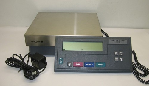 Mettler Toledo Mentor BC30 Counting Scale w Power Supply Keypad as Is | eBay