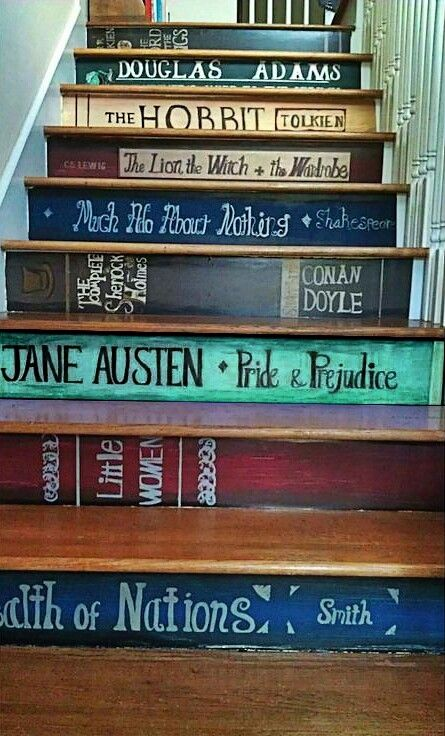 For those who love to read.Cute idea. this is so creative!