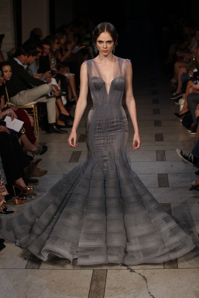 So dramatic - Zac Posen RTW Spring 2012