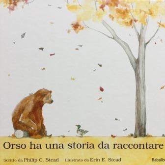 Copertina orso ha una storia