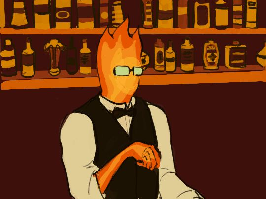 grillby men Grillby sighed he was hoping no one would see him here then again you barley knew anybody, and you didn't seem like the rumoring type sorry.