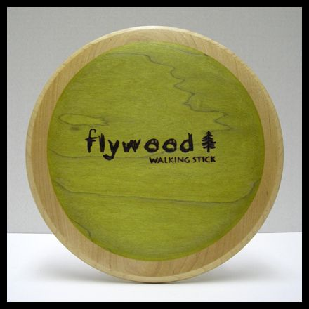 The Flywood Walking Stick Distance Driver Wood Disc Golf Disc