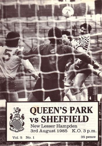 Queen's Park v Sheffield FC 1985 by footysphere, via Flickr