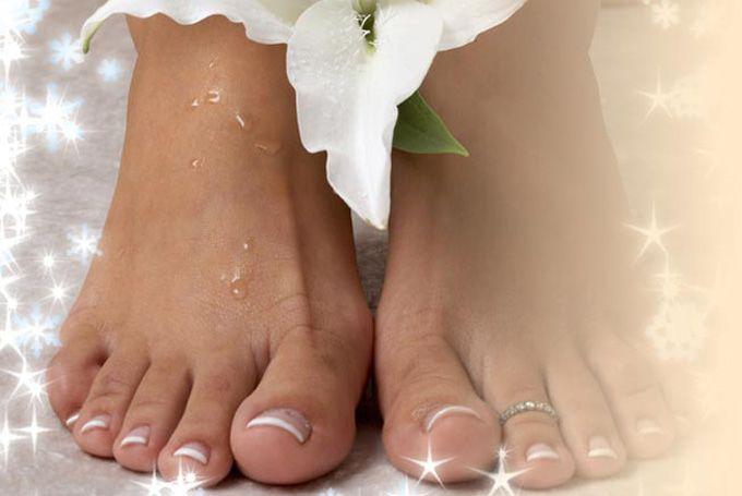 soin pour les pieds maison