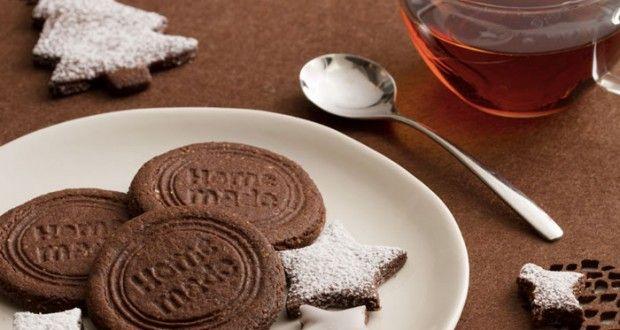 Sablés gourmands chocolat amandes - Drôles de mums - Gowizdeflo