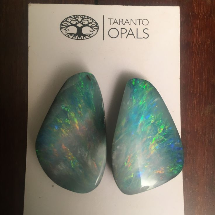 Boulder opal pairs. Mined in WINTON region central Queensland Australia