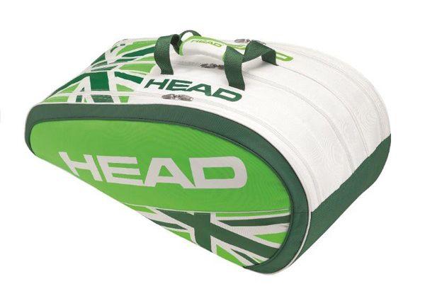#Tennis: due borse bianche in limited edition per #HEAD, bianco intenso con inserti verdi che richiamano l'erba di #Wimbledon.http://www.sfilate.it/227549/tennis-borse-bianche-in-limited-edition-per-head