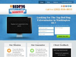 New listing in Pest Control Services added to CMac.ws. EZ Bed Bug Exterminator Washington DC in Washington, DC - http://pest-control-services.cmac.ws/ez-bed-bug-exterminator-washington-dc/19246/