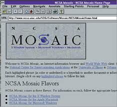 Resultat d'imatges de mosaic browser web