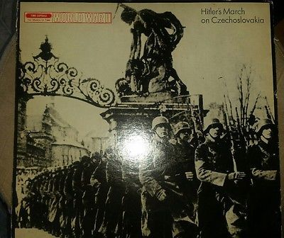 1931 Broadcast of WW11 USA first week at war & Hitler's March Time Life Vinyl