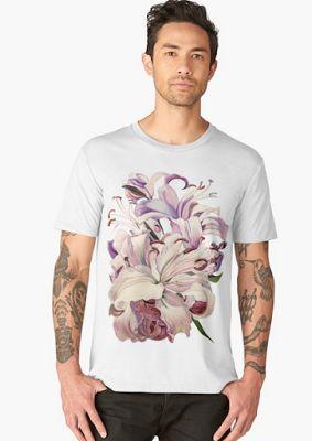 Tatyana Binovska Art Shop: Purple Lillies design products
