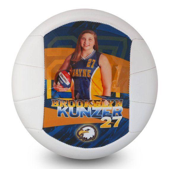 Custom Made Volleyball High School Senior Gift Senior Etsy High School Senior Gifts Volleyball Senior Gifts