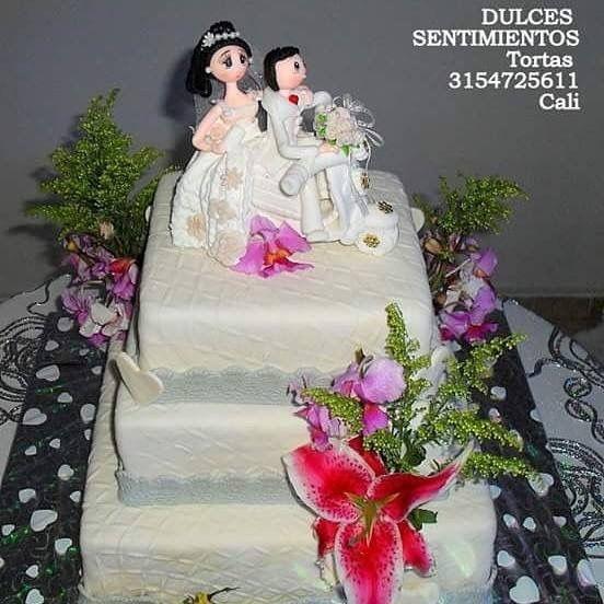 Torta Matrimonio  Pedidos whatsapp Cali Colombia 3154725611