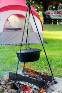 Camp cooking equipment you'll love.  I have to get one of those toasters!