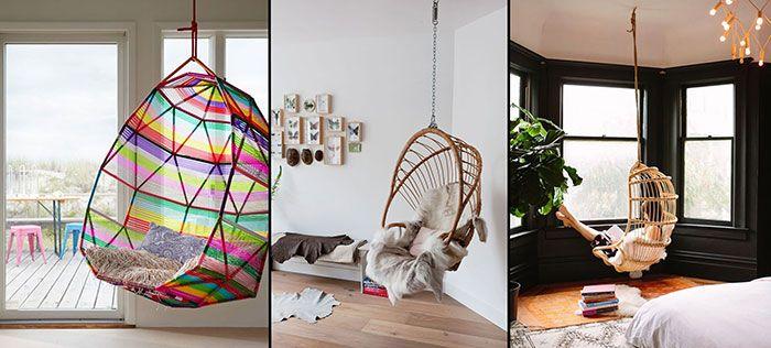 Las 25 mejores ideas sobre columpio de silla en pinterest - Sillas colgantes del techo ...