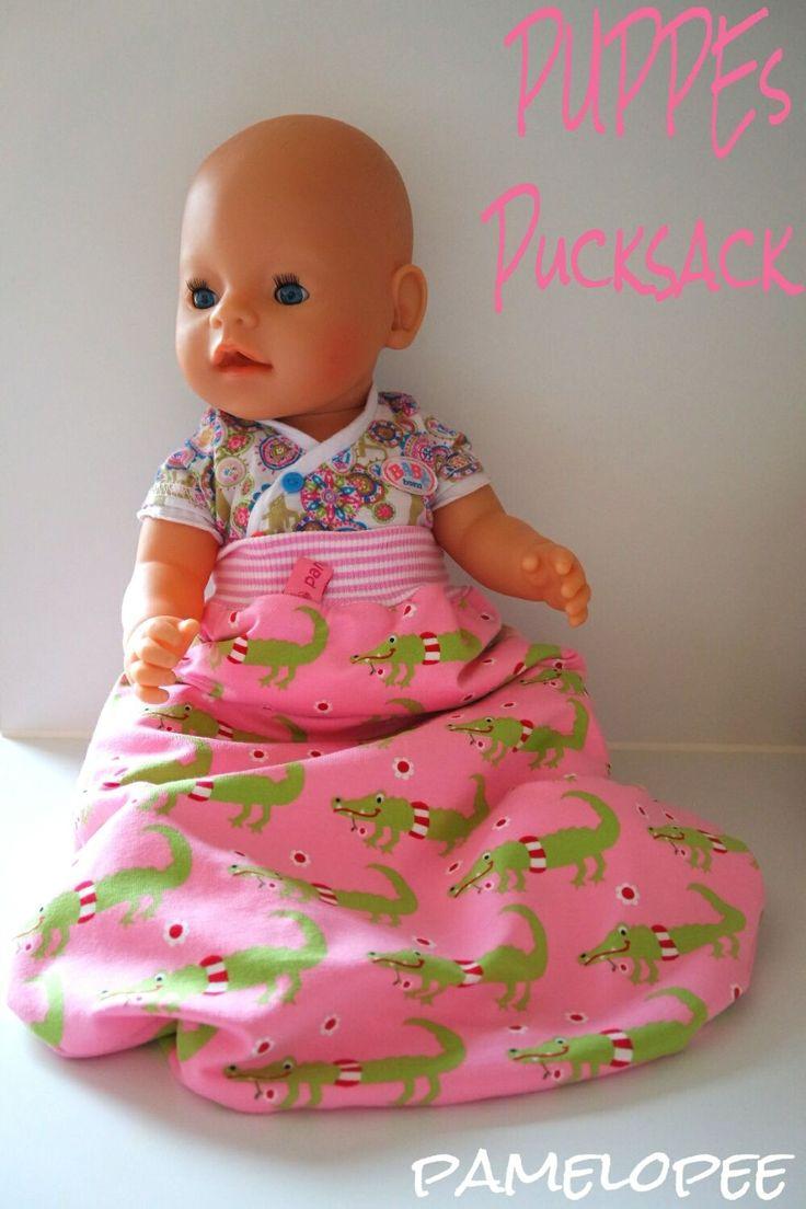 pamelopee: Ein Pucksack für die Puppe