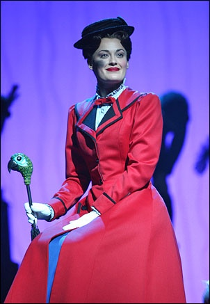 Ashley Brown was the first Broadway MARY POPPINS and later went out on the first US tour. She was brilliant.