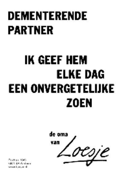 Dementerende partner