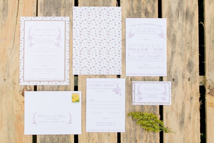 Rustic Pink, Sage, and Yellow Wedding Ideas - Photos by Ashley McCormick Photography (@Ashley McCormick) | Design by Emily Grace Design (@Emily Grace McCollum) | Paper by Dogwood Blossom Stationary