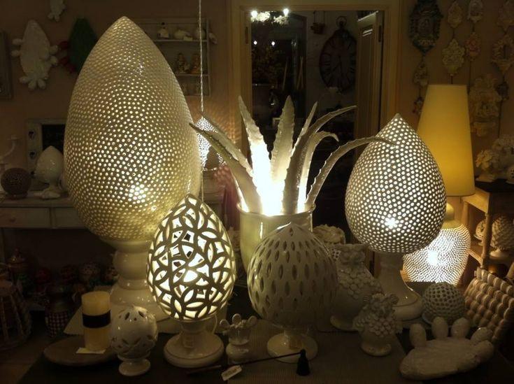 Lampade in ceramica. Pottery