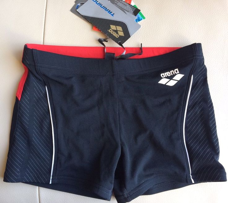 Mens Arena NWT Waternity Swim Training Shorts Size 28 Chlorine Resistant #Arena