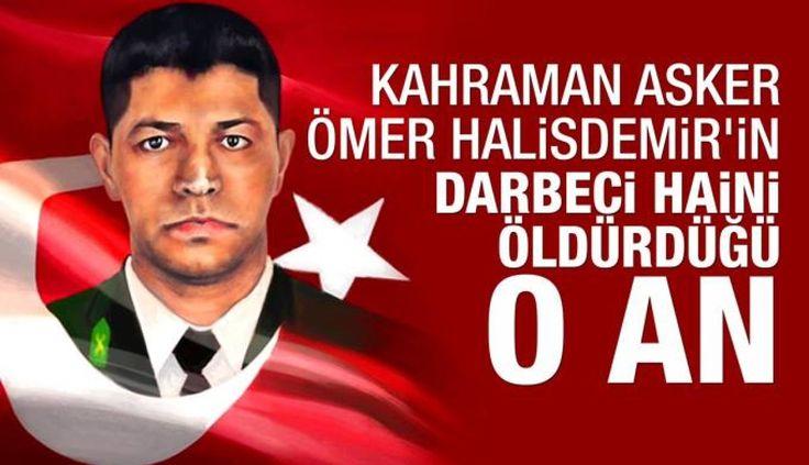 Ömer Halis Demir'in Darbeci Generali Vurma Anı