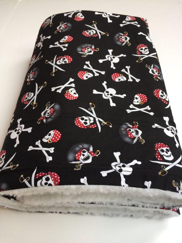 Pirate Dog Blanket, Pet Blanket, Pirate Party, Pirate Throw, Skull Crossbones, Jolly Roger, Pirate Garb, Pirate Decor, Skull and Swords by ComfyPetPads on Etsy