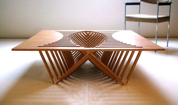 folding table: Coffe Tables, Coffee Tables, Vans Embricq, Tables Design, Sweets Tables, Rise Tables, Robert Vans, Products Design, Furniture